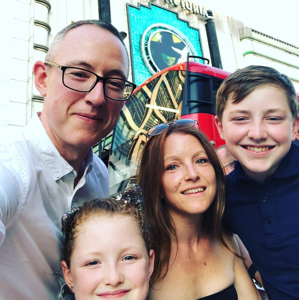 Website designer in North yorkshire with family