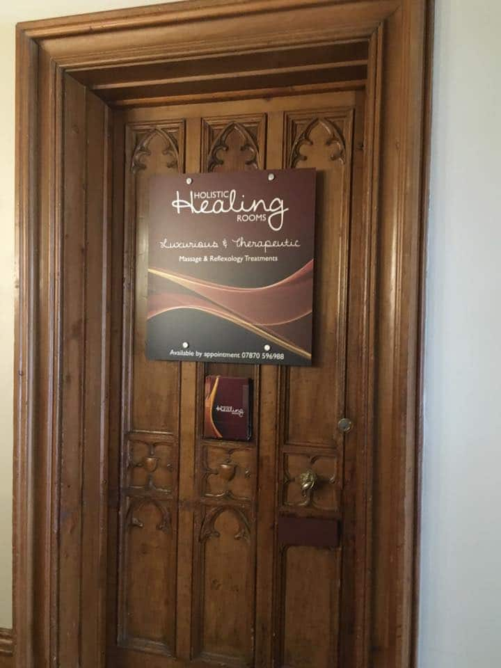 Door Sign for Healing Rooms Bingley