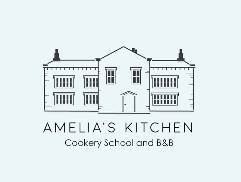 Amelias Kitchen Logo Design Yorkshire Dales