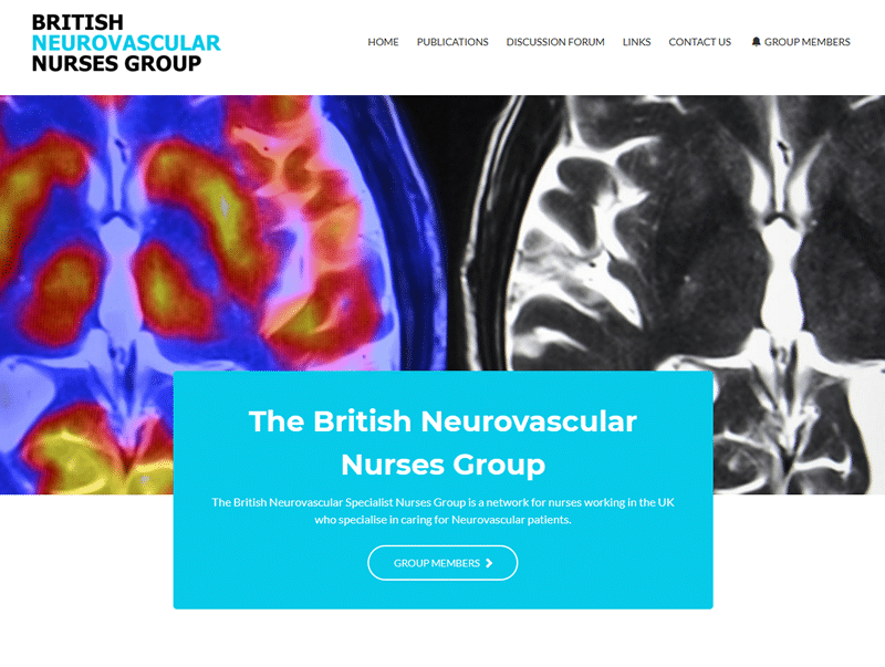 British neurovasular nurses group website