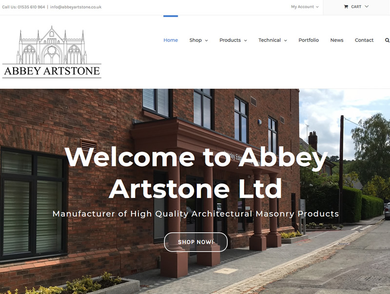 abbey_artstone wordpress design