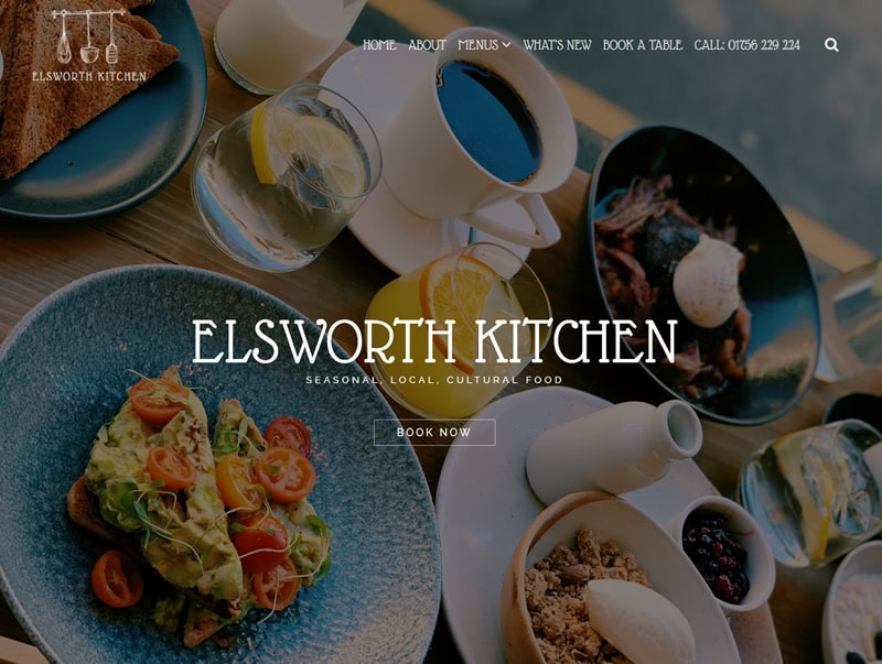 Elsworth Kitchen Website Design