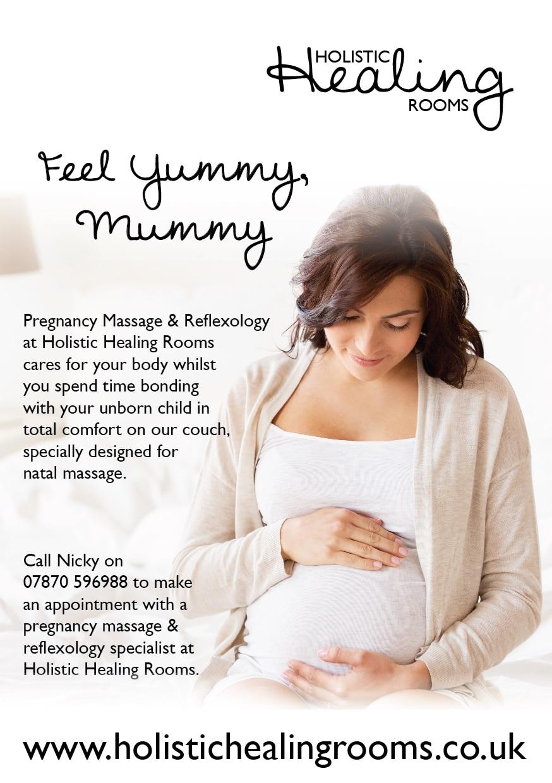 Yummy Mummy Leaflet