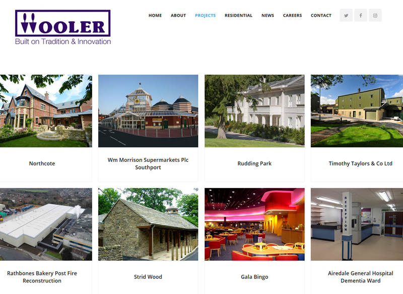 Rn Wooler Construction Keighley Portfolio Web Page