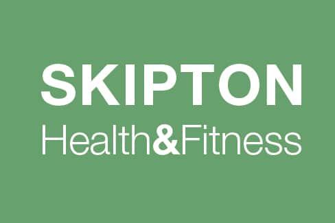 skipton health and fitness logo design