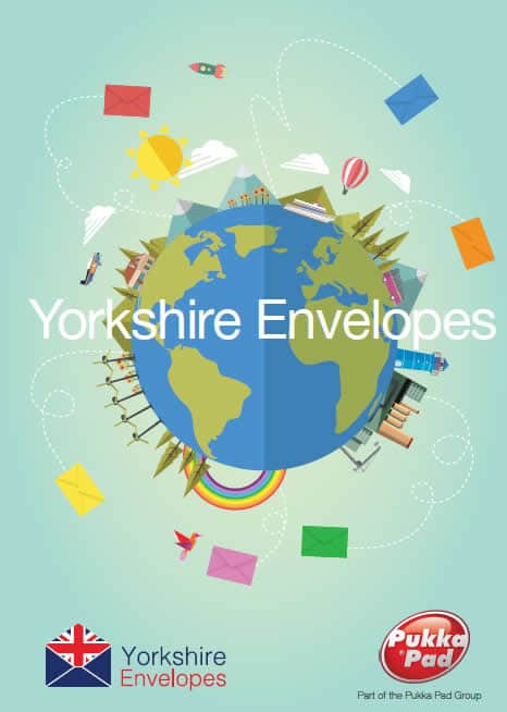 yorkshire envelopes brochure front cover