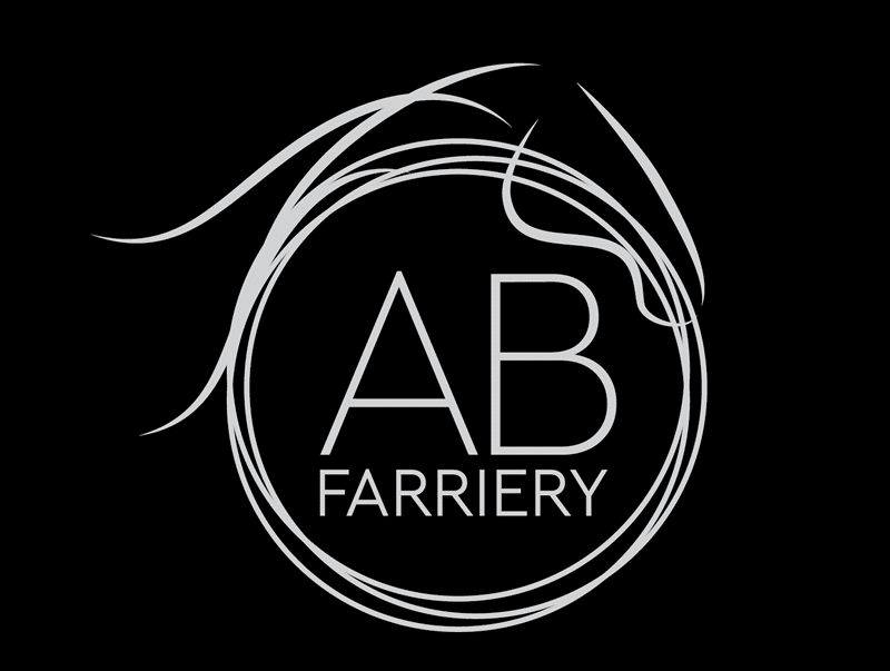 AB Farriery logo design oxford