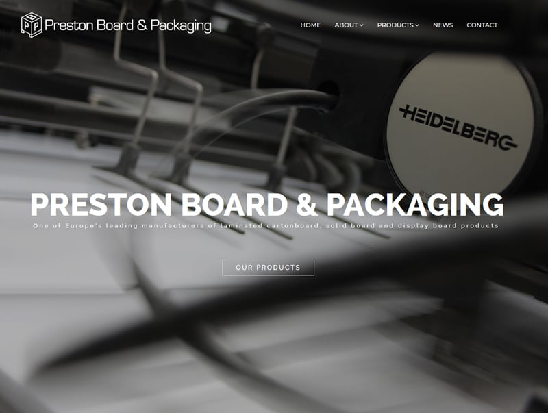 Preston Board & Packaging