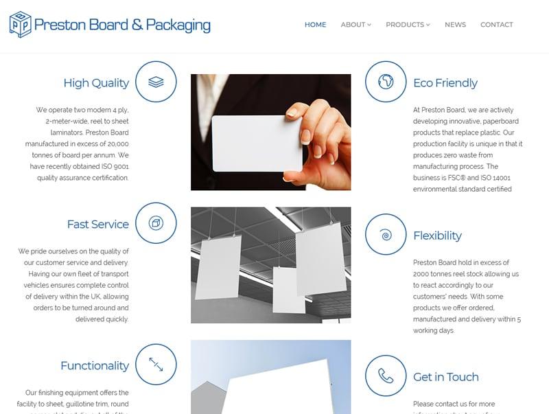 preston board home page