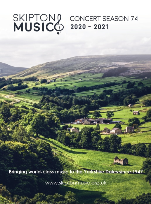 skipton music brochure design