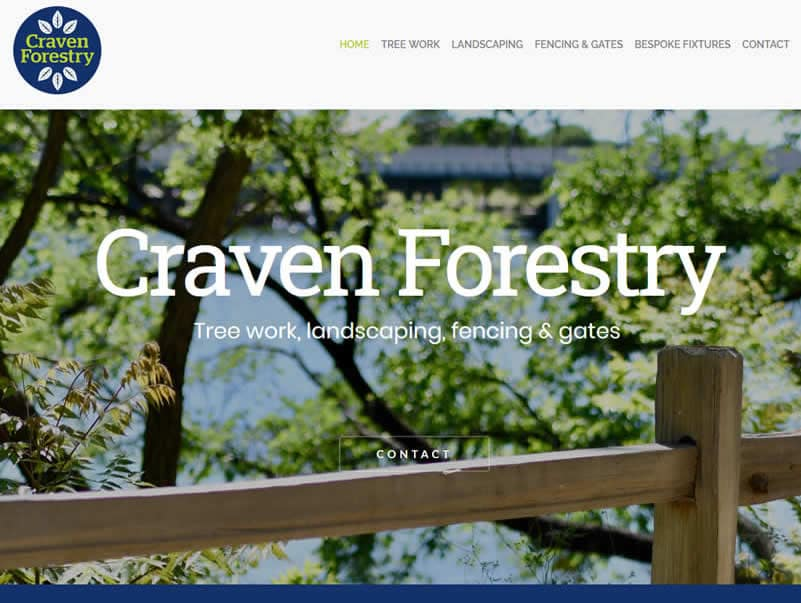 craven forestry website