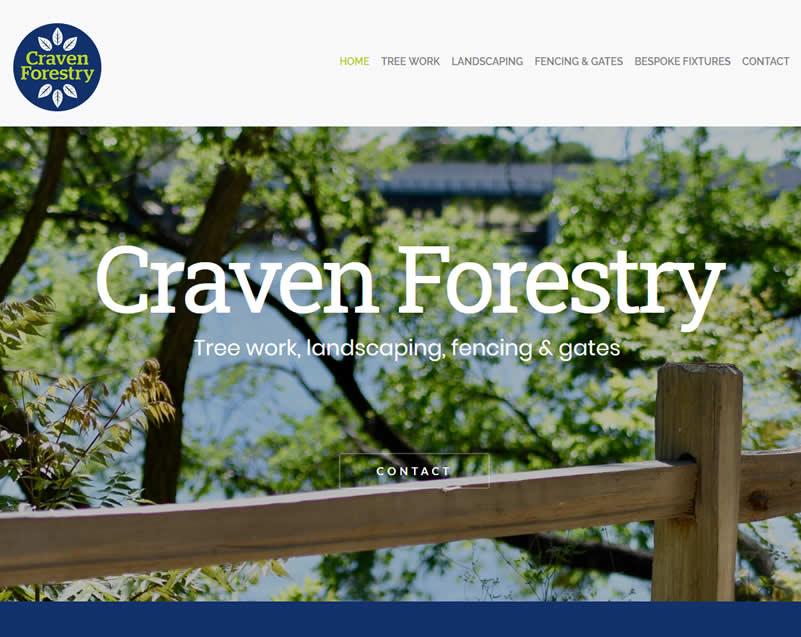craven forestry website