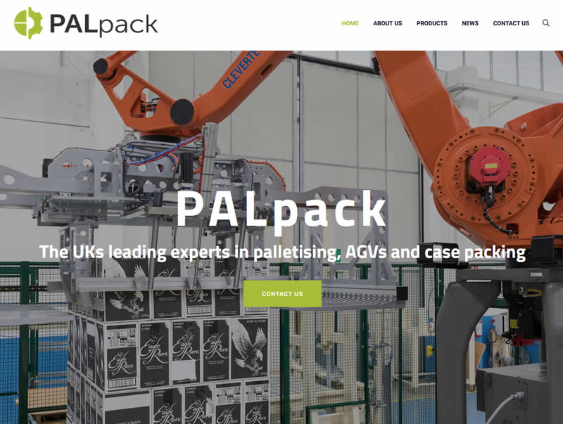 pal pack palletising robots