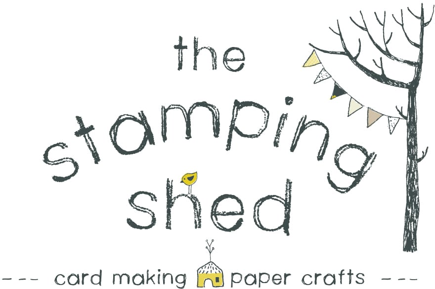 the stamping shed logo