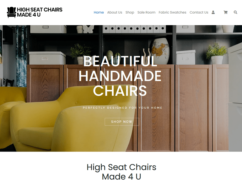 high seat chairs made for you